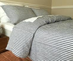 blue ticking bedding ticking stripe quilt french