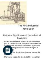 industrial revolution essay industrial revolution wealth industrial revolution