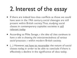 marie langlais social class decline essay plansocial class decline es  5 2