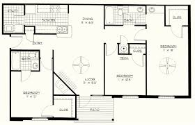 full size of beds graceful three bedroom house plans 11 cute 3 blueprints shining ideas 8
