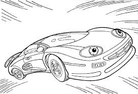 Auto Kleurplaten Raceauto