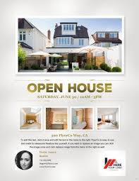 realtor open house flyers open house flyer easy likeness sample real estate at marevinho
