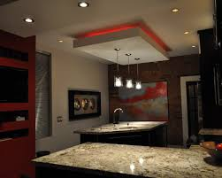 lighting modern design. Modern Minimalis Track Lights Design In The Kitchen : With Dining Room Ceiling Feature Lighting