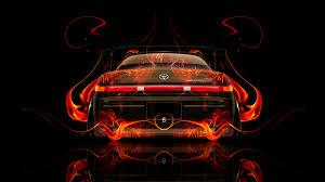 toyota mark2 jzx90 jdm back fire abstract car