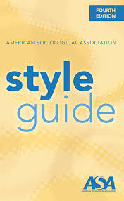 American Sociological Association Style Guide American Sociological