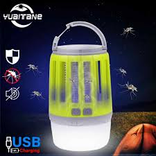 Bug Free Camping Lights Ip67 Waterproof Usb Charging Mosquito Killer Trap Led Night Light Lamp Bug Insect Lights Killing Pest Repeller Camping Light New