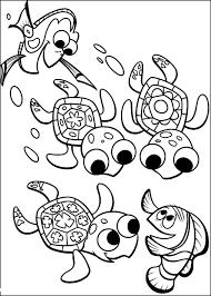 Disegno Di Marlin Dory Guizzo E Le Tartarughine Alla Ricerca Di