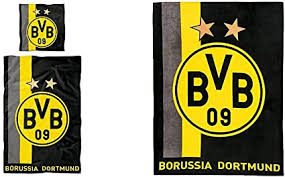 We did not find results for: Borussia Dortmund Bvb Bettwasche Mit Streifenmuster 135x200cm Unisex Bvb Fleecedecke Fleecedecke Mit Streifenmuster Schwarz Gelb 200 X 150 1 Cm Eu Amazon De Sport Freizeit