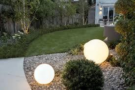 garden lighting design in london