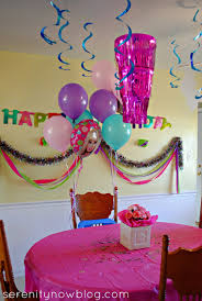 birthday decorations at home for husband
