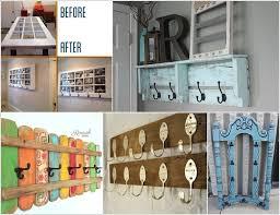 Cool Coat Rack Ideas Beauteous 32 Cool DIY Coat Rack Ideas From Repurposed Materials