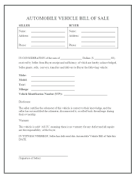 Bill Of Sale Template Word 2007 Bill Of Sale Form Unique Basic Template Printable Blank Word