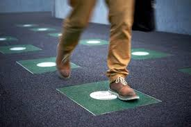 Risultati immagini per tappeti che sfruttano energia cinetica
