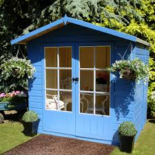 Lumley Shiplap Timber Summerhouse with Toughened Glass Base Included - B&Q  for all your home and garden supplies and advice on all the latest DIY  trends