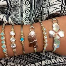 you can never have too many earth grace bracelets