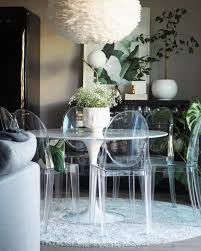 ... Dining Chairs, Clear Dining Room Chairs Table Victoria Ghost Design:  Inspiring Clear Dining Room ...
