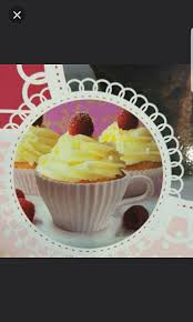 cupcake surprise 48 pages recipe book and 4 teacup shaped silicone holders and saucers kitchen appliances on carousell