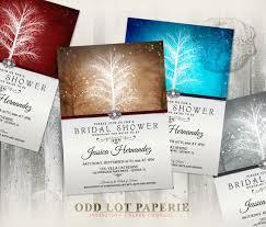 Winter Wonderland Bridal Shower Invitation Printable Etsy