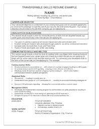 Key Skills Resume Amazing Customer Service Key Skills Resume Examples On Additional Academic