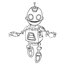 Nieuw Robot Kleurplaat Printen Krijg Duizenden Kleurenfotos Van