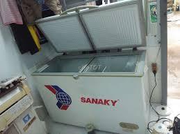 Siêu đẹp 400 lít Sanaky tủ đông 2 ngăn 1 Đông 1 mát