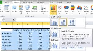 Stacked Chart Excel 2010 How To Add Totals To Stacked Charts For Readability Excel