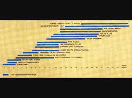 Trivandrum Developmental Screening Chart Developmental