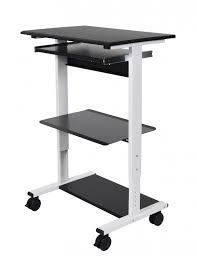 incredible mobile standing computer workstation with tray stand up desk stand up computer workstation prepare