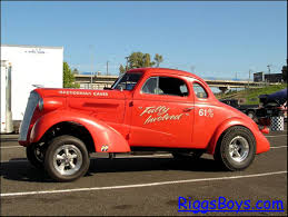 """1937 Chevrolet Coupe """"Gasser"""""""