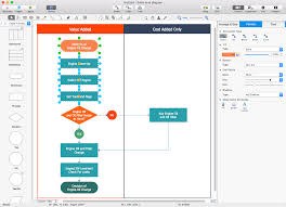 flowchart in word add a cross functional flowchart to word conceptdraw helpdesk