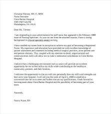 Graduate Program Cover Letter New Nursing Grad Cover Letter Sample Resume Examples Nurse Example