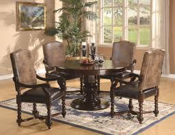 exquisite formal dining room furniture with indoor plant and french window