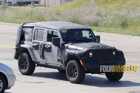 2018 jeep electric top. modren top spied 2018 jeep wrangler jl unlimited retains folding soft top option in jeep electric top g