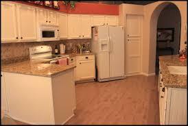 Kitchen Design White Appliances Painted White Kitchen Cabinets With White Appliances Design Ideas