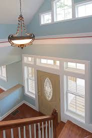 lighting in vaulted ceilings. The Entry Chandelier Sets Stage For Space Lighting In Vaulted Ceilings E