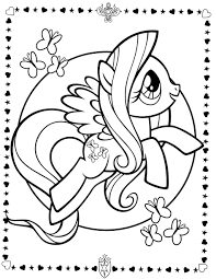 Small Picture Coloring Pages My Little Pony Coloring Pages Free Coloring Pages