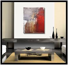 amazoncom abstract canvas painting modern wall art limited