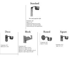bracket styles bracket projection style
