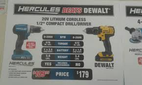 harbor freight hammer drill. hercules vs dewalt drill spec rundown harbor freight hammer