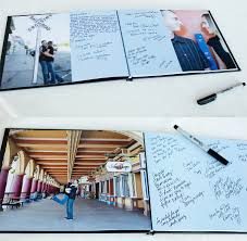 Guest Sign Book John Beckys Wedding Guest Sign In Book Harry Who Photo Blog