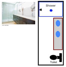 Townhouse Floor Plan With Elevator  Floor Plans  Pinterest Small Narrow Bathroom Floor Plans