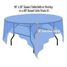 what size tablecloth for 60 inch round table awesome inch round table at tables runner what