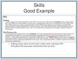 Good Skills Put Resume How Write Developer Cvrsum That Will Get You