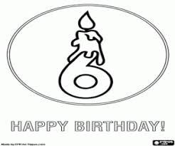 Kleurplaten Verjaardag Kaarten Gelukkige Verjaardag Kleurplaat