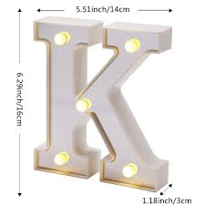 Lighted Letter L Kuchuang Led Silver Marquee Letter Lights 26 Alphabet Light Up Letters Battery Power Lighted Letters Wall Letters Sign For Night Light Wedding