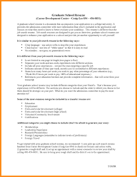 9 Sample Resume For Graduate School Application Azzurra Castle