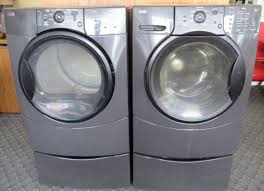 kenmore elite washer and dryer. lot # : 14 - kenmore elite he3t front load washer dryer set and 0