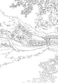 塗り絵セレクション Japan 日本 290000001 B51822575mmサイズ おまけ8ページ本文24ページ 左開き シ