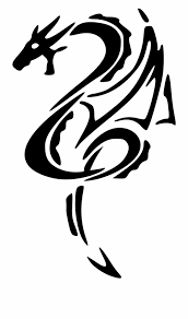 Easy Dragon Designs This Free Icons Png Design Of Black Dragon Left Tattoo