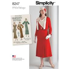 Vintage Simplicity Patterns Custom Decoration